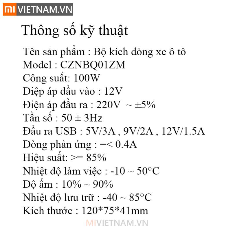 MIVIETNAM-TAU-KICH-DIEN-12V-LEN-220V-TREN-XE-HOI