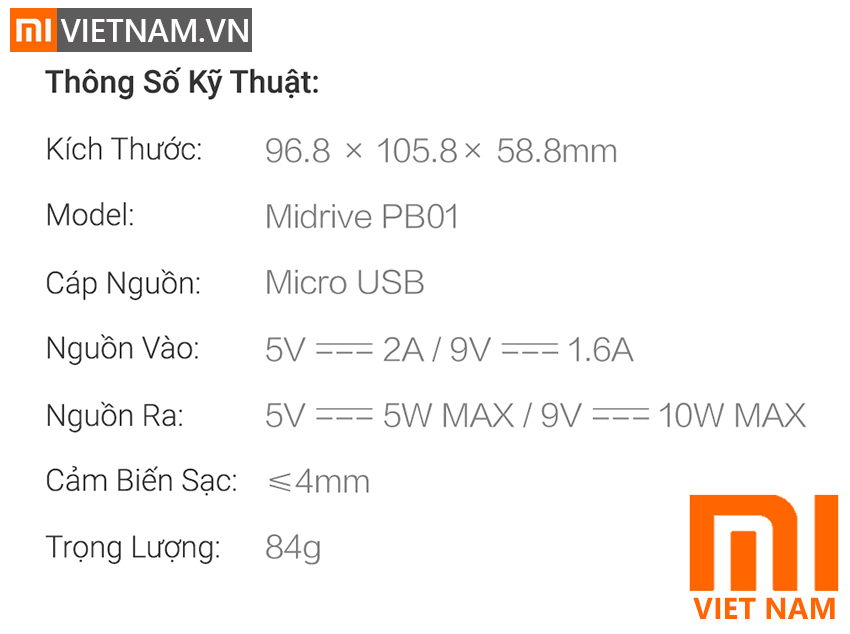 MIVIETNAM-SAC-KHONG-DAY-O-TO-XIAOMI-70-MAI-MIDRIVE-PB01