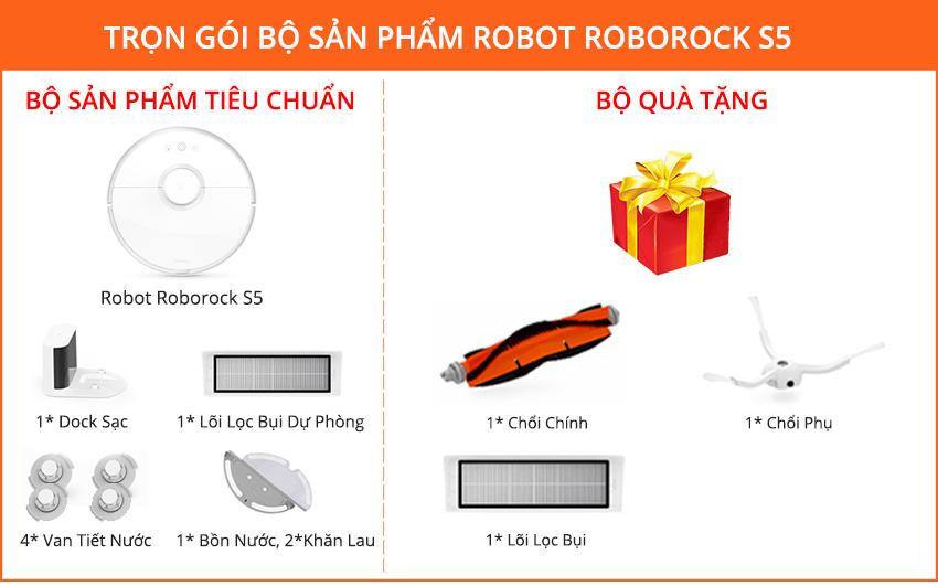 Robot Lau Nhà Roborock S5