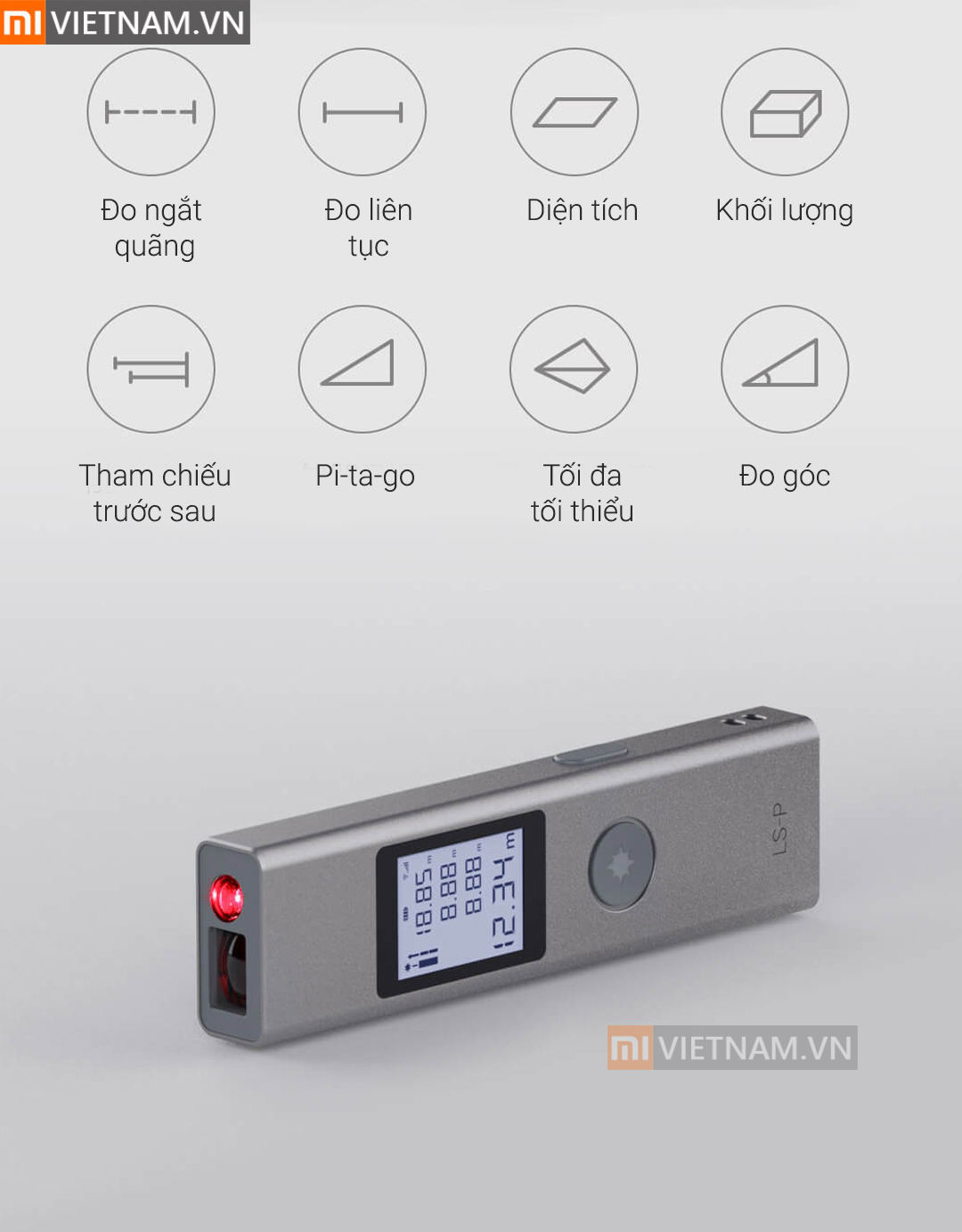 MIVIETNAM-MAY-DO-KHOANG-CACH-BANG-TIA-LASER-XIAOMI-DUKA-LSP