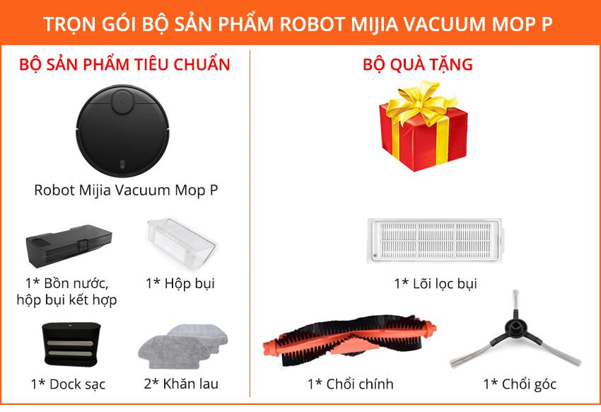 Robot Lau Nhà Xiaomi Mi Vacuum Mop P