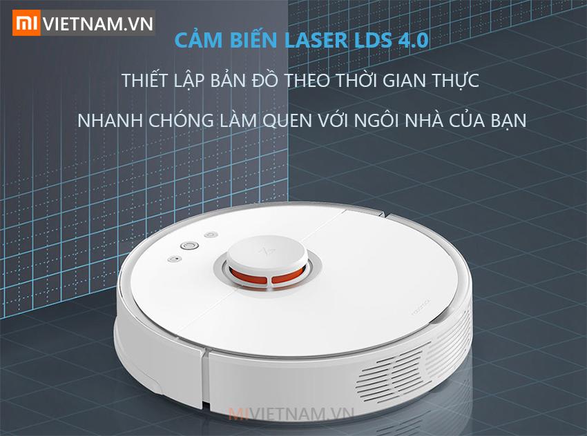 Cảm biến Laser LDS | Robot Lau Nhà Roborock S5