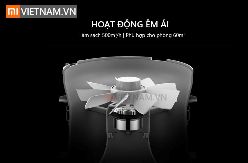 Hoạt đông êm ái | Máy Lọc Không Khí Xiaomi Mi Air Purifier Pro
