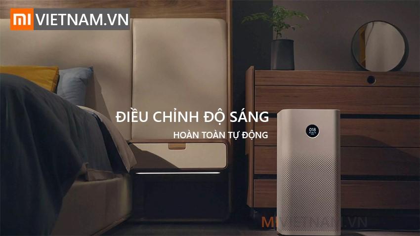 Điều chỉnh độ sáng | Máy Lọc Không Khí Xiaomi Mi Air Purifier Pro