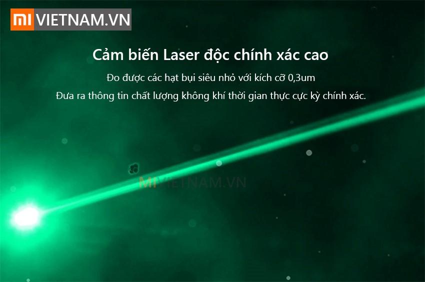 Cảm biến laser độ chính xác cao | Máy Lọc Không Khí Xiaomi Mi Air Purifier Pro