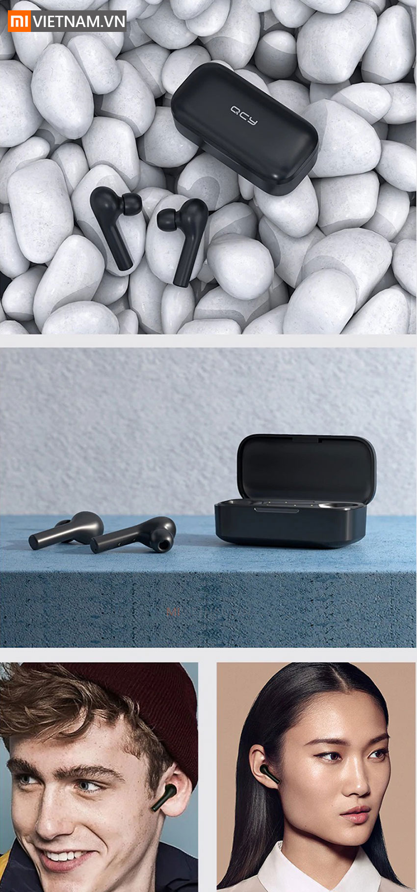 Tai nghe Bluetooth True Wireless QCY T5