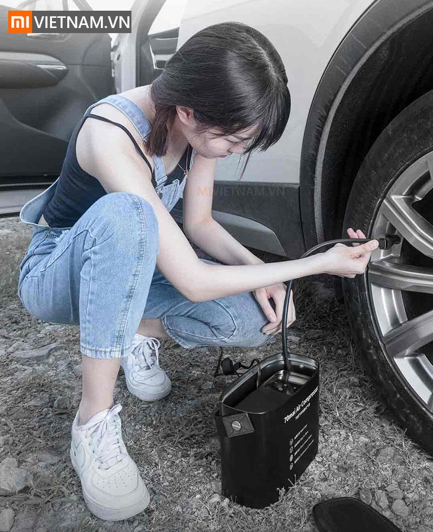 Máy Bơm Lốp Xe Ô Tô 70mai Air Compressor Midrive TP01