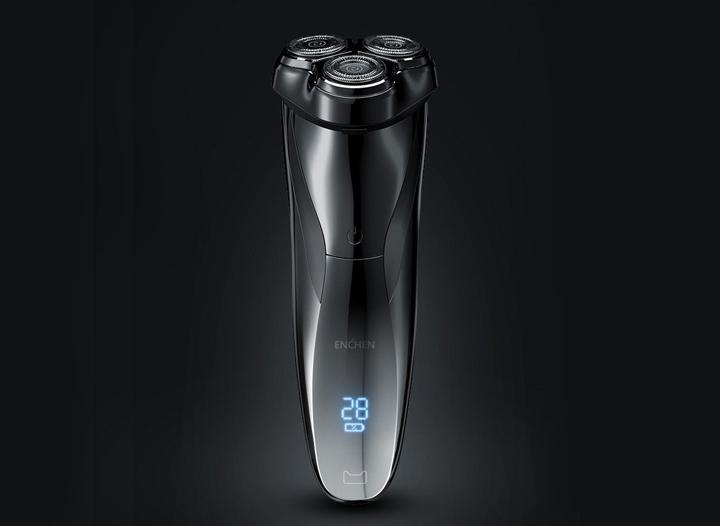 Xiaomi ra mắt máy cạo râu Enchen BlackStone 3: Kháng nước, pin 2 tháng, cổng USB-C