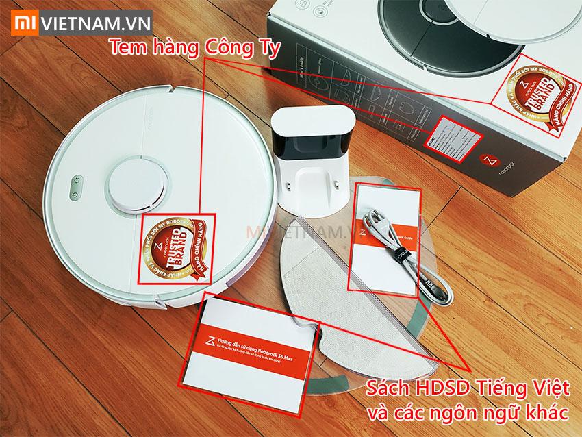 Robot Hút Bụi Lau Nhà Roborock S5 MAX | Ảnh thật 3
