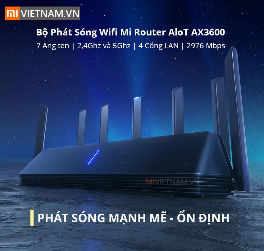 Wifi Mi Router AloT AX3600