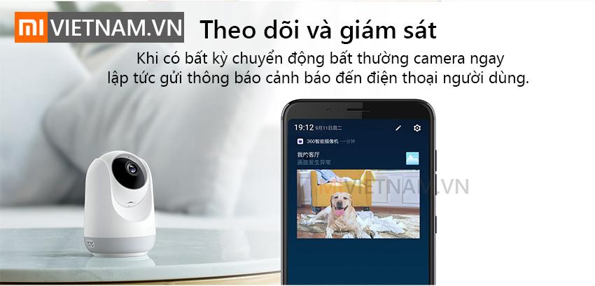 Camera Giám Sát An Ninh 360 Độ Qihoo D806