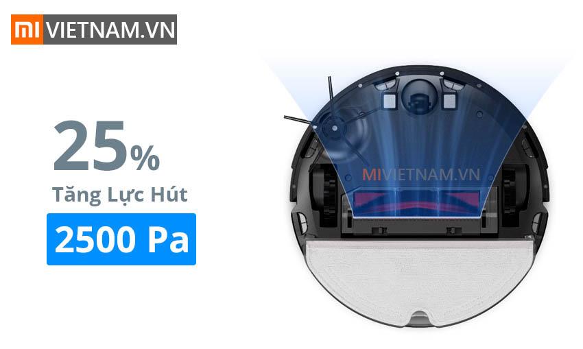Lực hút 2500Pa | Roborock S6 MaxV