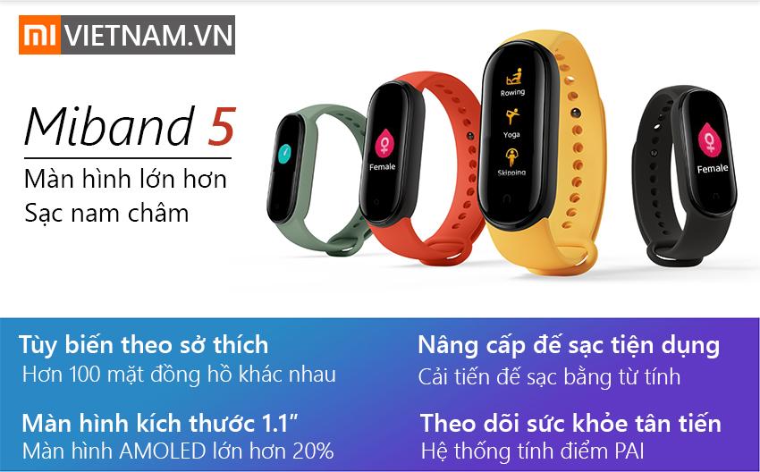 Đồng Hồ Thông Minh Mi Band 5