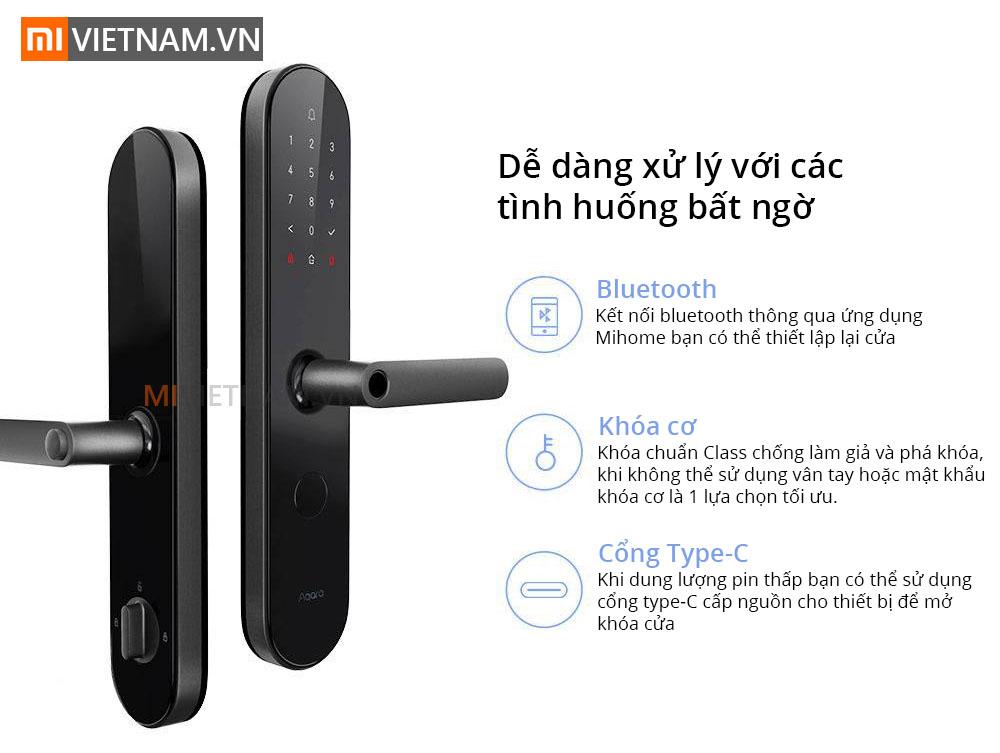 Khóa Cửa Thông Minh Aquara N100 Smart Door Lock