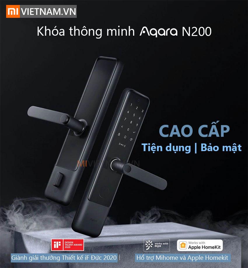 Khóa Cửa Thông Minh Aquara N200