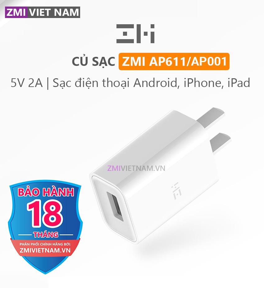 Củ Sạc ZMI AP611/AP001