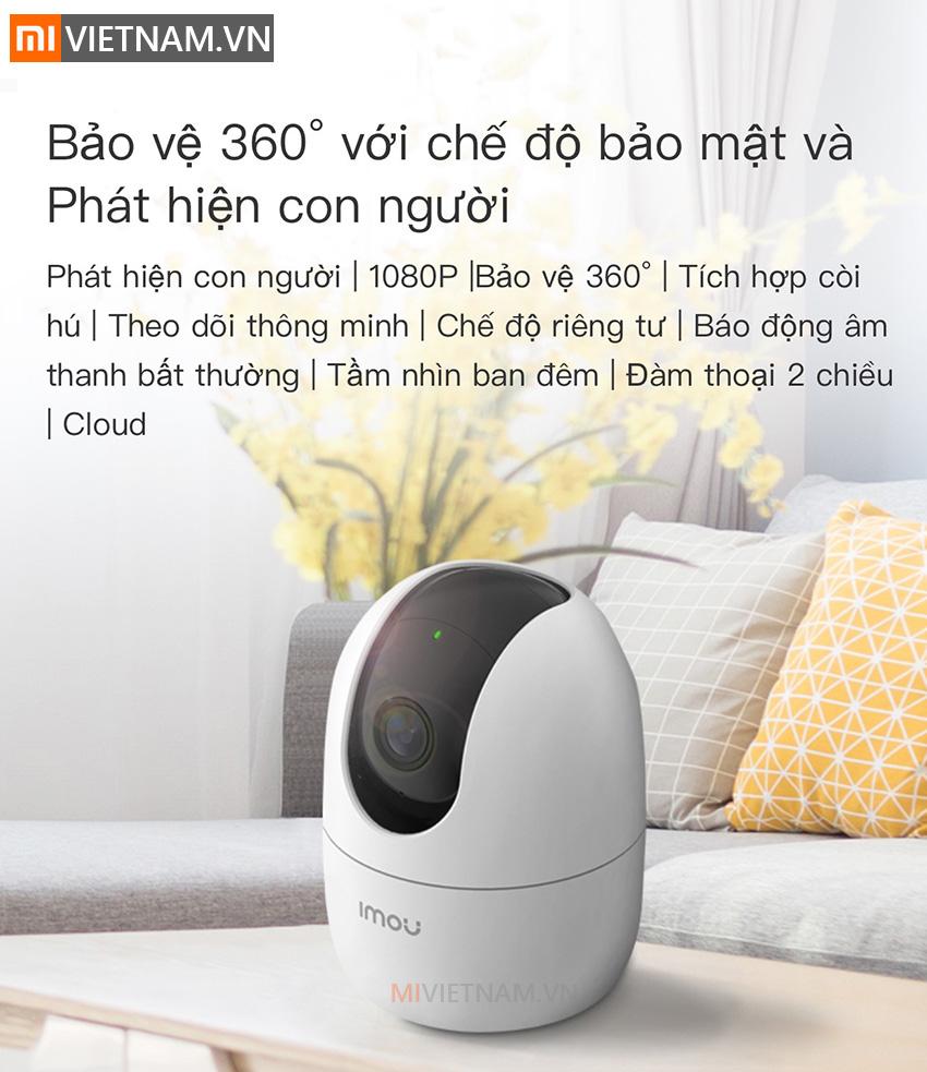 Camera Giám Sát An Ninh Xoay 360° IMOU Ranger 2 20
