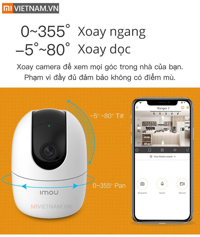 Camera Giám Sát An Ninh Xoay 360° IMOU Ranger 2 04