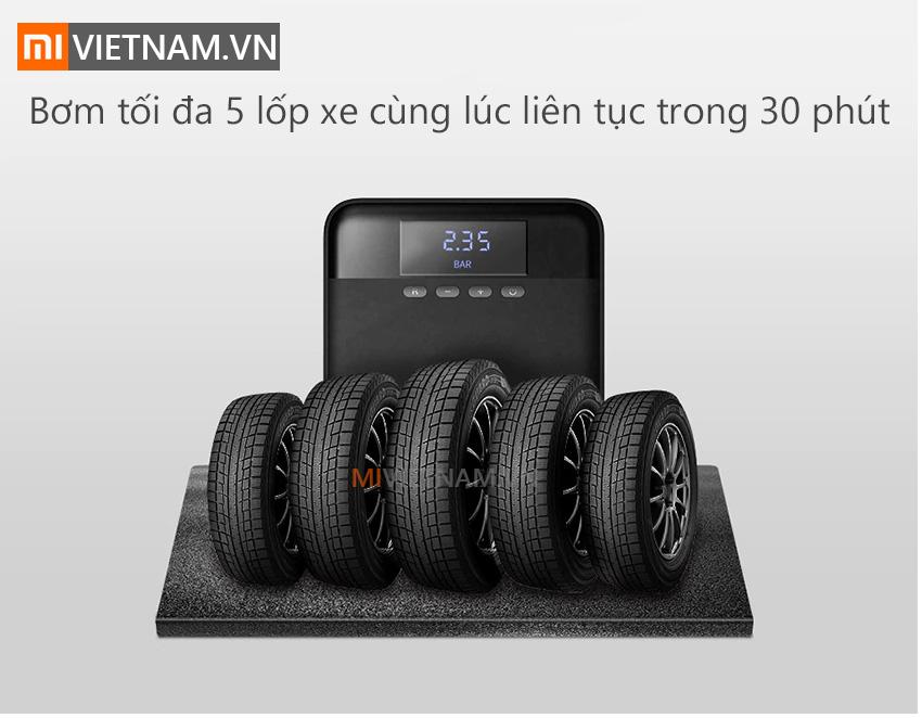 Máy Bơm Lốp Xe Ô Tô 70mai Air Compressor Lite