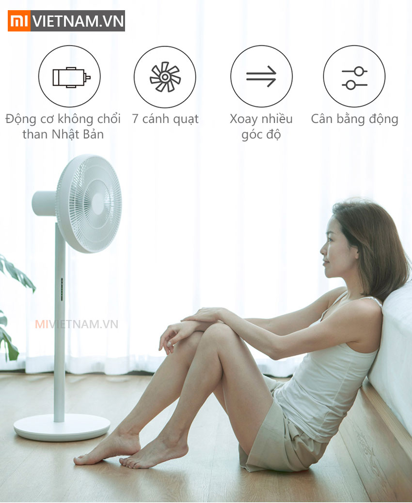 Quạt Điện Thông Minh Mi Smart Fan 3