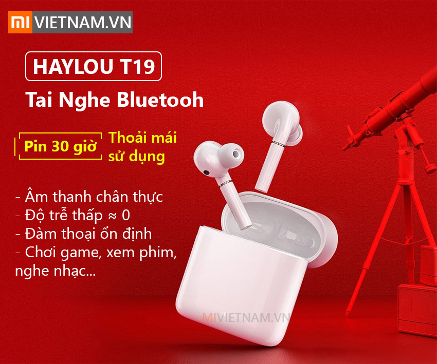 Tai Nghe Bluetooth Haylou T19