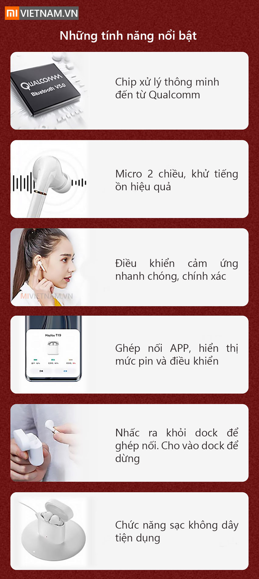 Tai Nghe Bluetooth Haylou T19 03