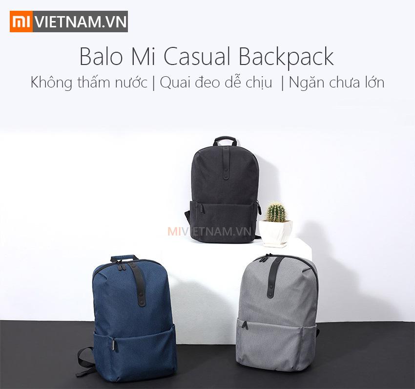Balo Mi Casual Backpack