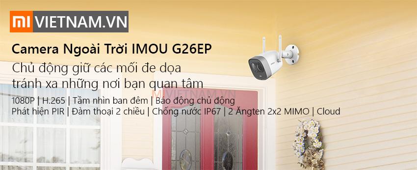 Camera Giám Sát An Ninh Ngoài Trời IMOU G26EP