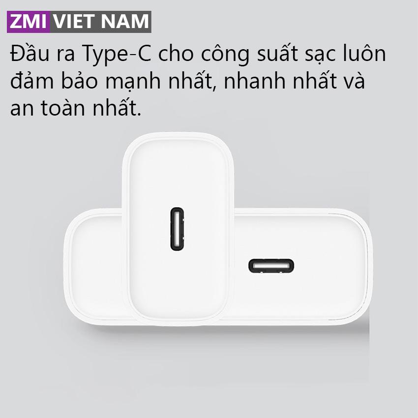 hình ảnh Củ Sạc Nhanh ZMI HA716