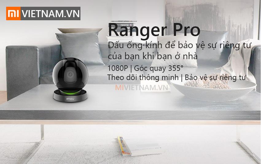 Camera Giám Sát An Ninh Xoay IMOU Ranger Pro