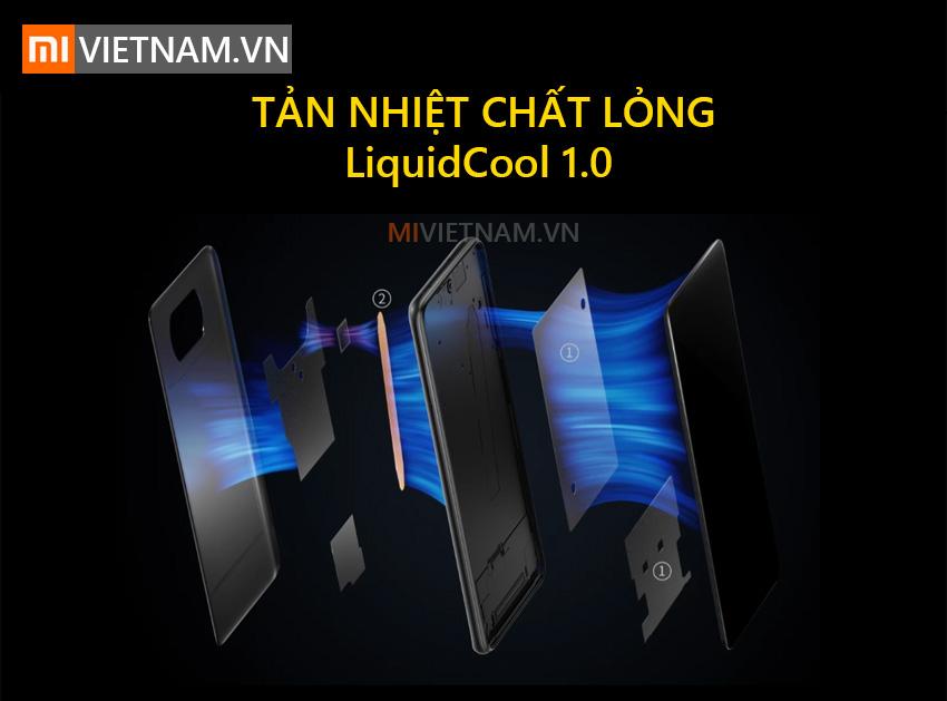 Tản nhiệt chất lỏng | POCO X3 NFC