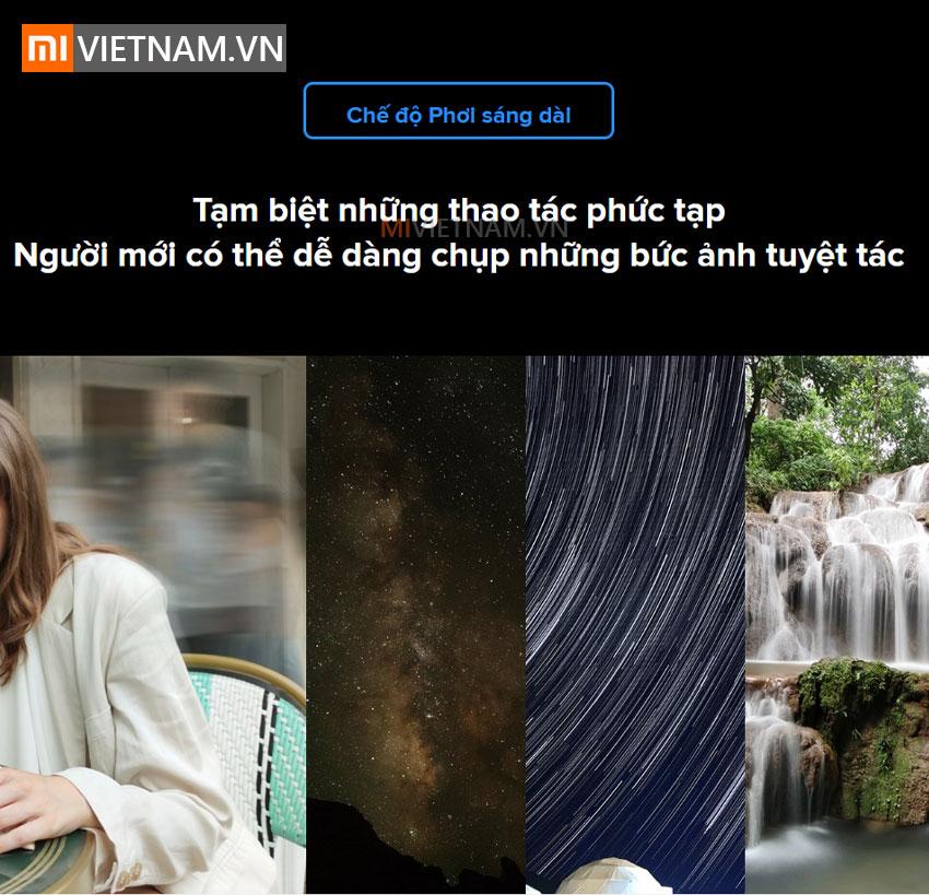 Chế độ phơi sáng dài | Xiaomi Mi 10T Pro 5G