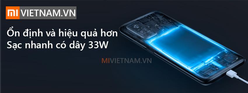 Sạc nhanh 33W | Xiaomi Mi 10T Pro 5G