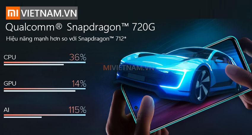 Qualcomm Snapdragon | Điện thoại Xiaomi Redmi Note 9 Pro
