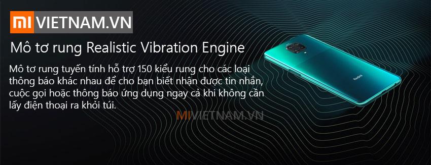Mô tơ rung Realstic Vibration Điện thoại Xiaomi Redmi Note 9 Pro