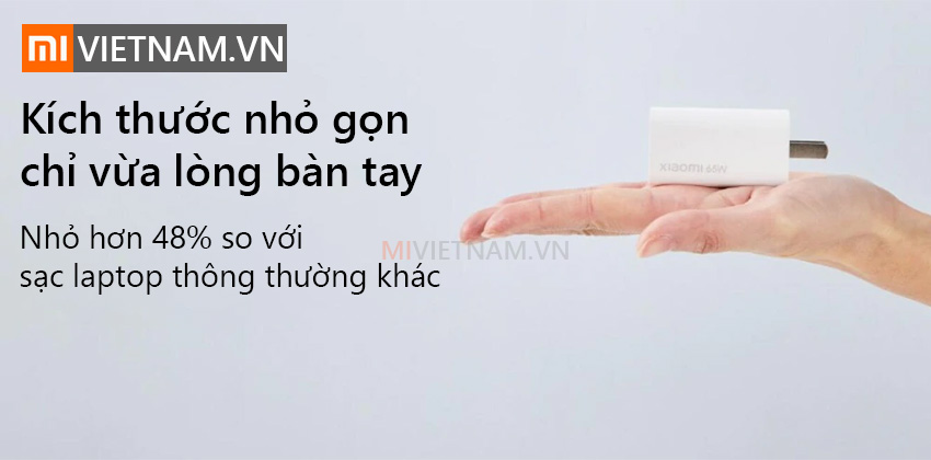 Củ Sạc Nhanh GaN Xiaomi 65W AD65G