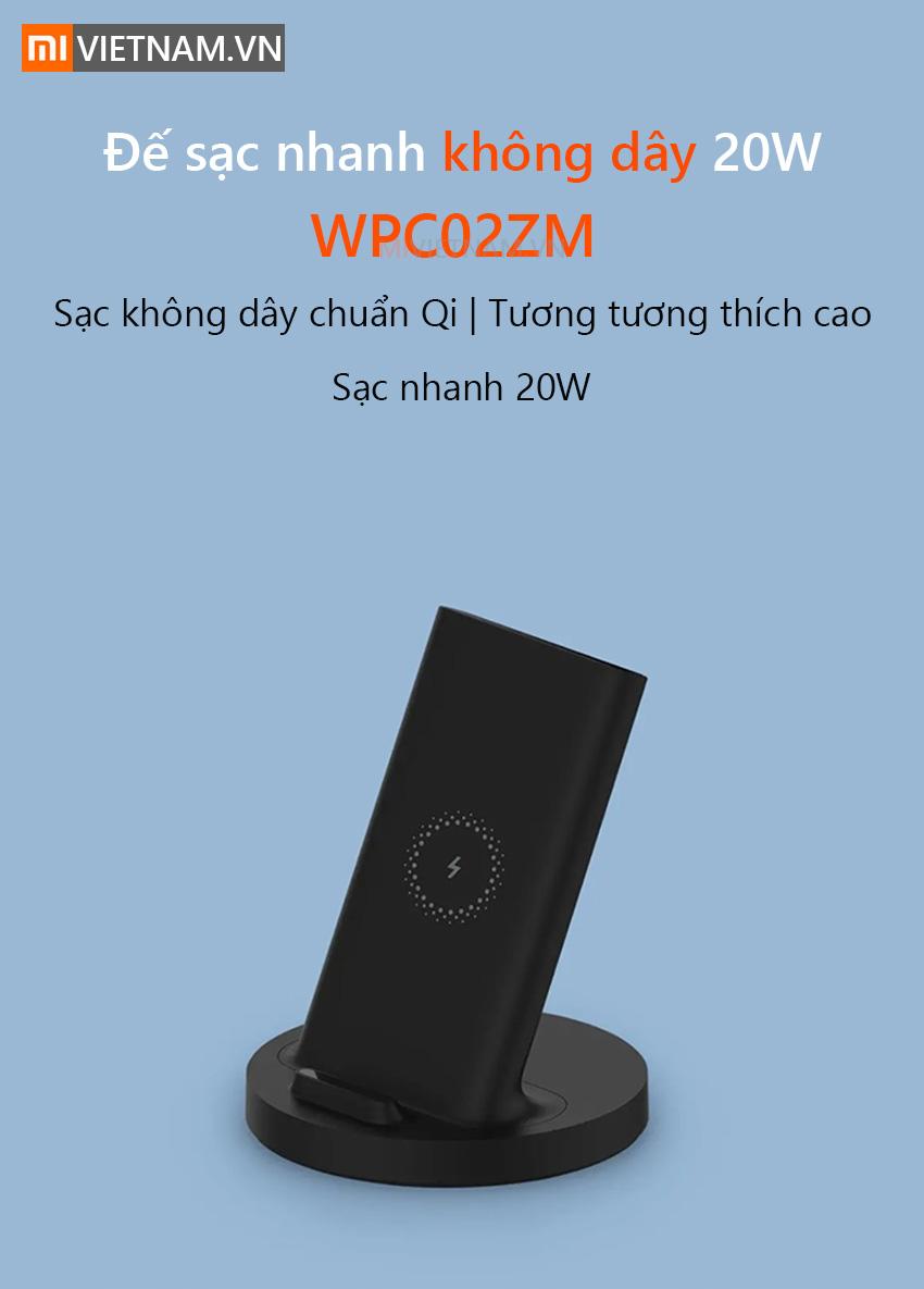 Đế sạc không dây Xiaomi WPC02ZM