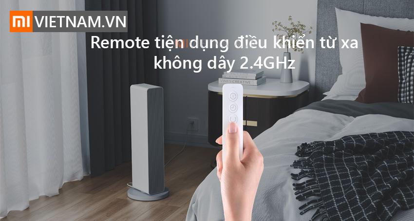 Remote tiện dung | Máy quạt sưởi thông minh Smartmi Smart Fan Heater