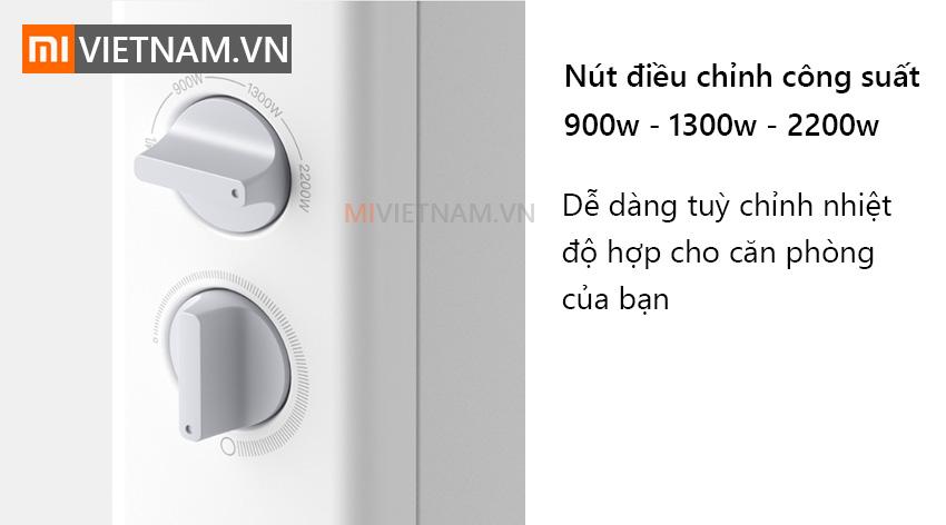 Máy sưởi điện Xiaomi Smartmi Convector Heater 1S