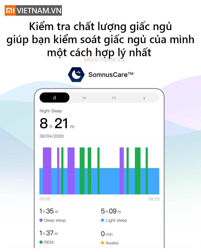 Kiểm tra chất lượng giấc ngủ | Đồng Hồ Thông Minh Amazfit GTS 2