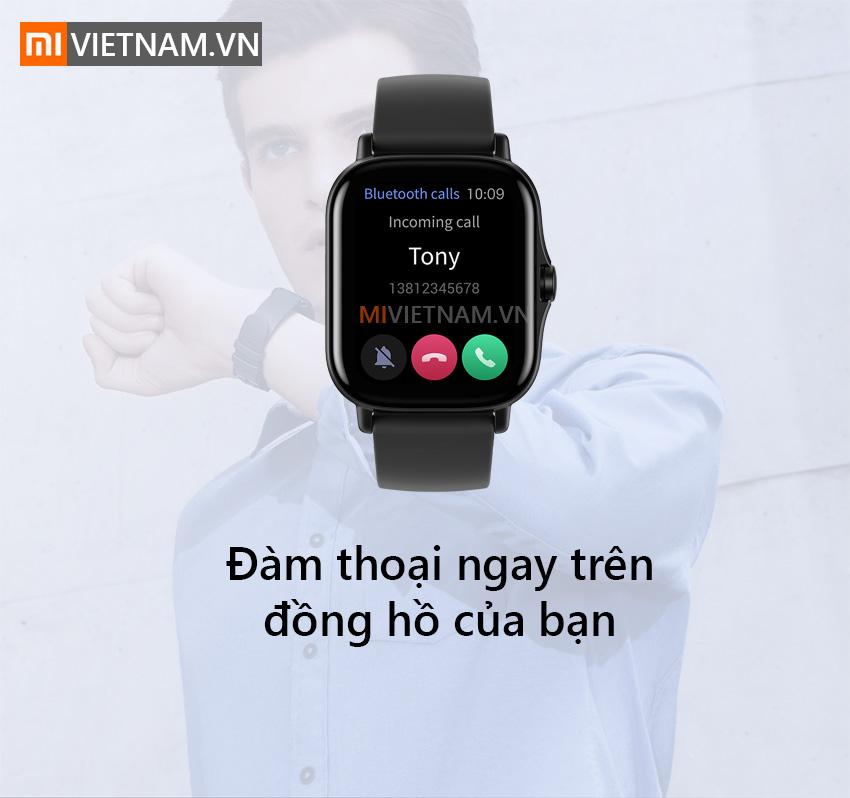 Đàm thoại ngay trên đồng hồ | Amazfit GTS 2
