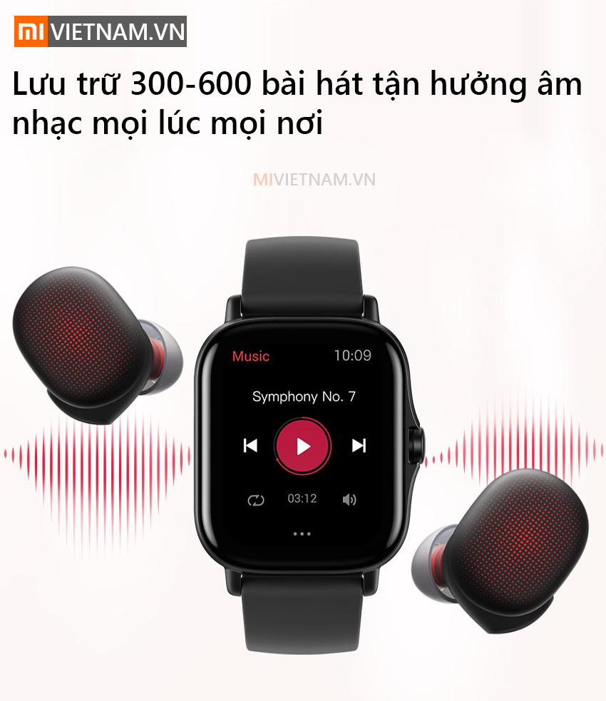 Lưu trữ 600 bài hát | Đồng Hồ Thông Minh Amazfit GTS 2
