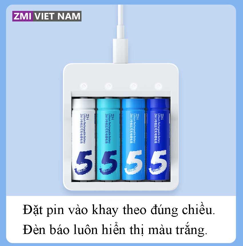 Bộ Sạc Pin ZMI PB421 02