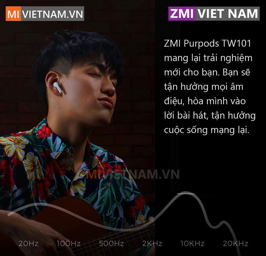 Tai Nghe Bluetooth ZMI Purpods TW101 01