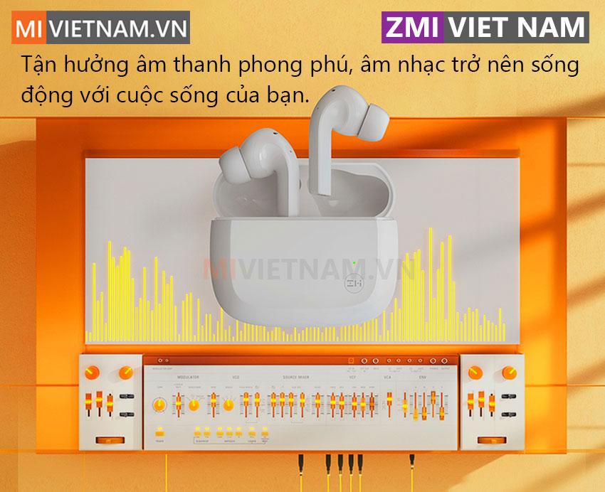 Tai Nghe Bluetooth ZMI Purpods TW101 02