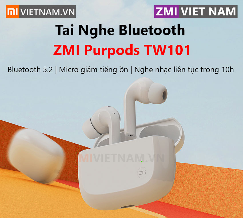 Tai Nghe Bluetooth ZMI Purpods TW101